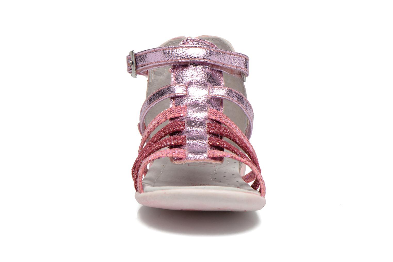 Sandales et nu-pieds NA! Anoa Rose vue portées chaussures
