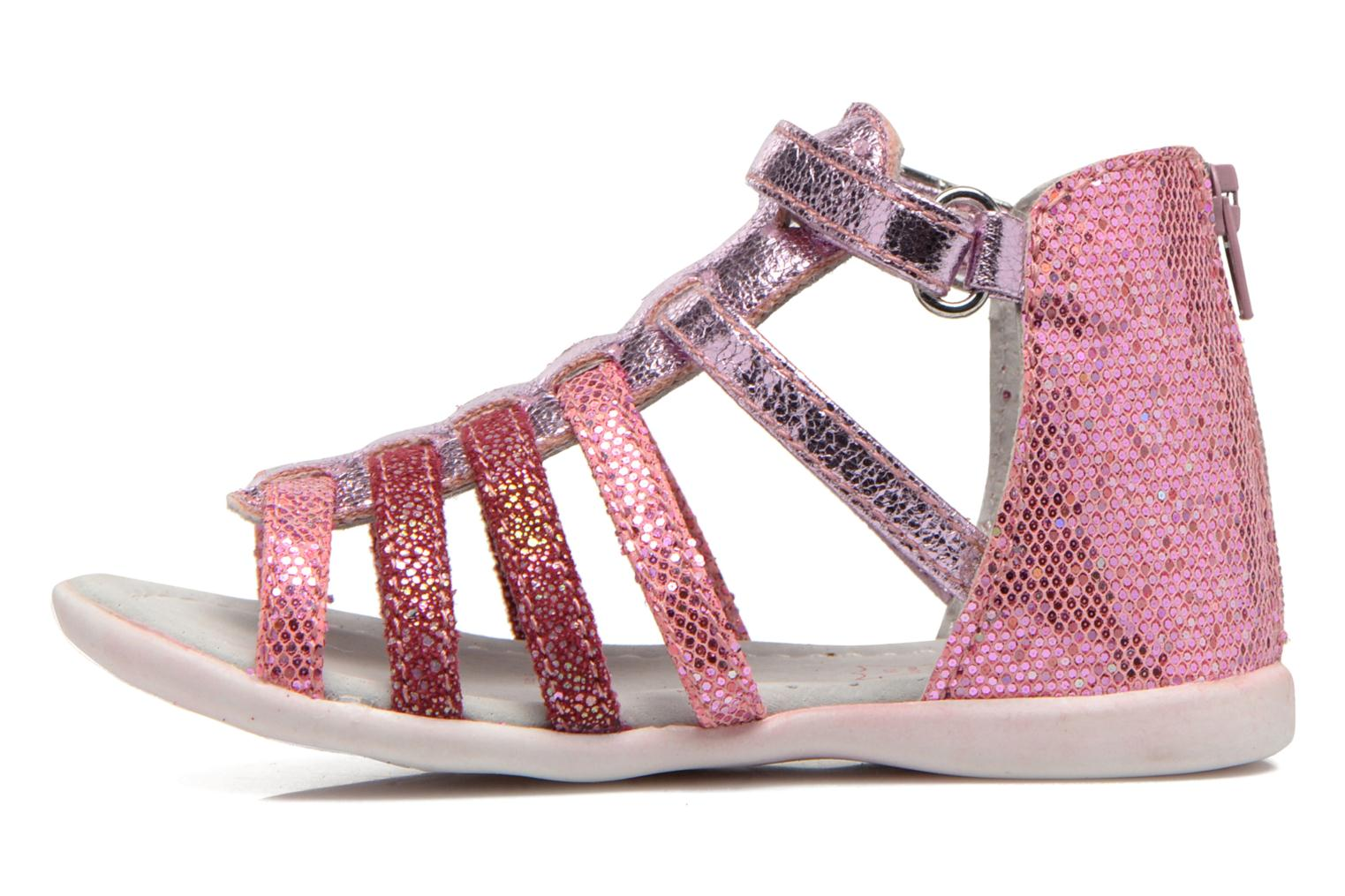 Sandals NA! Anoa Pink front view