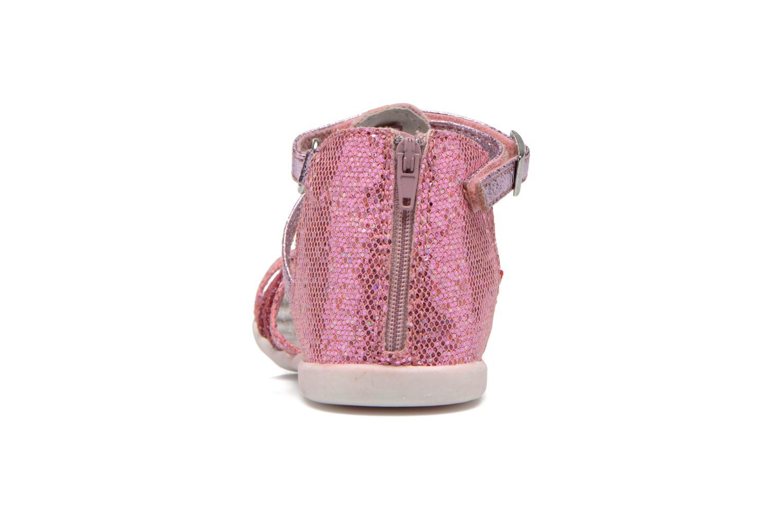 Sandalen NA! Anoa rosa ansicht von rechts