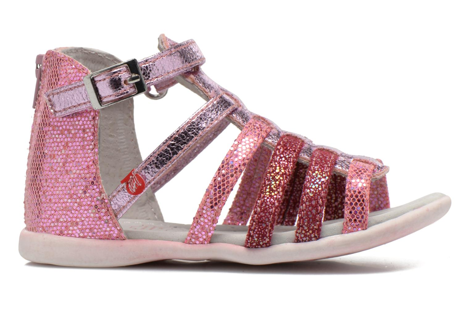 Sandals NA! Anoa Pink back view