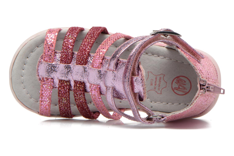 Sandalen NA! Anoa rosa ansicht von links