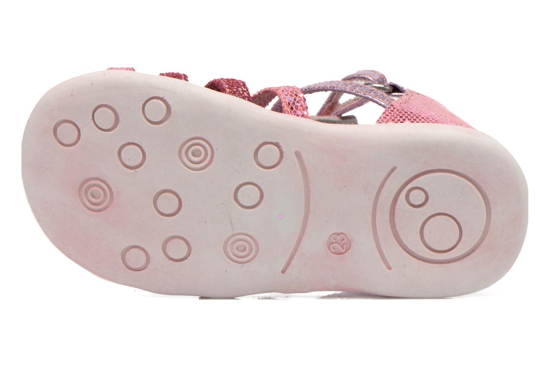 Sandales et nu-pieds NA! Anoa Rose vue haut