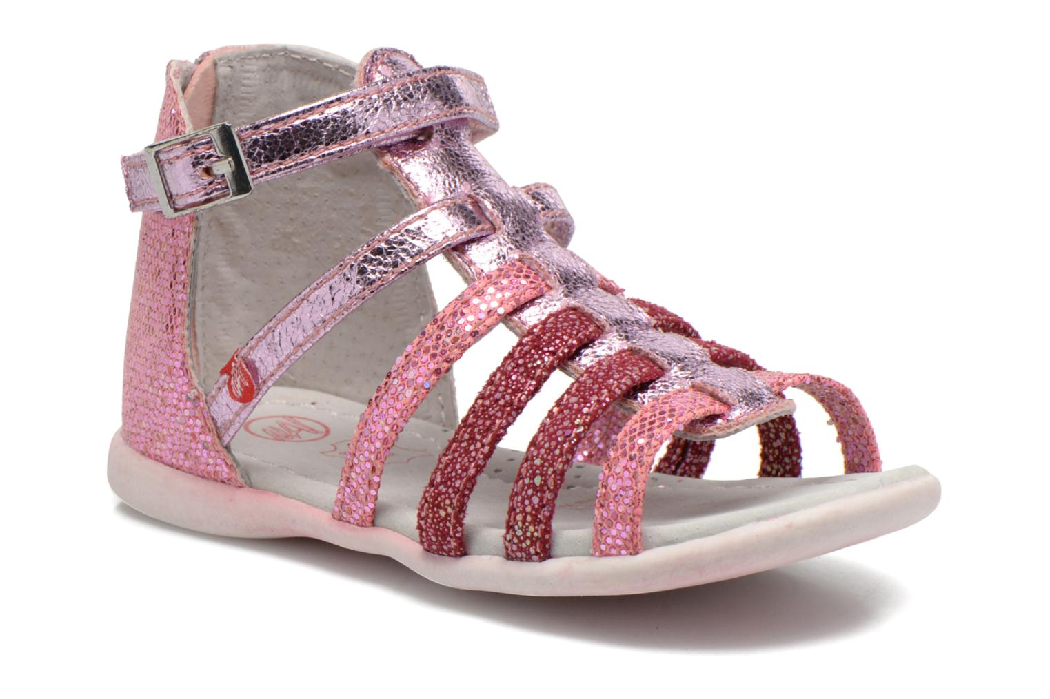 Sandals NA! Anoa Pink detailed view/ Pair view