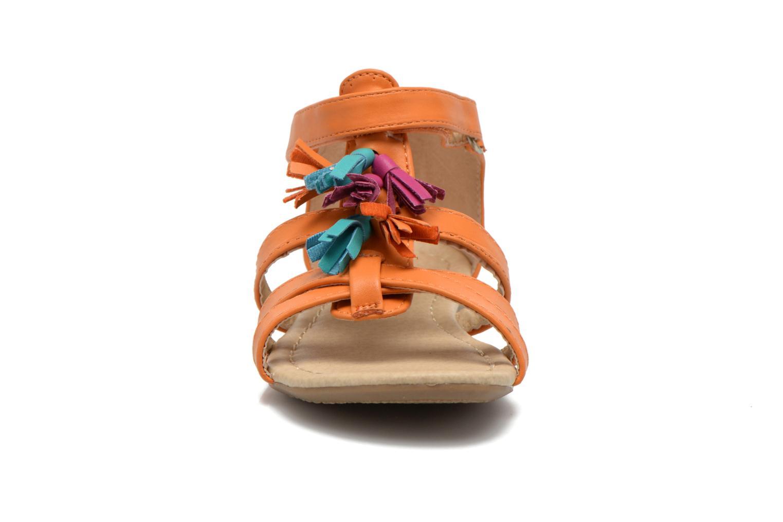 Sandals NA! Flo Orange model view