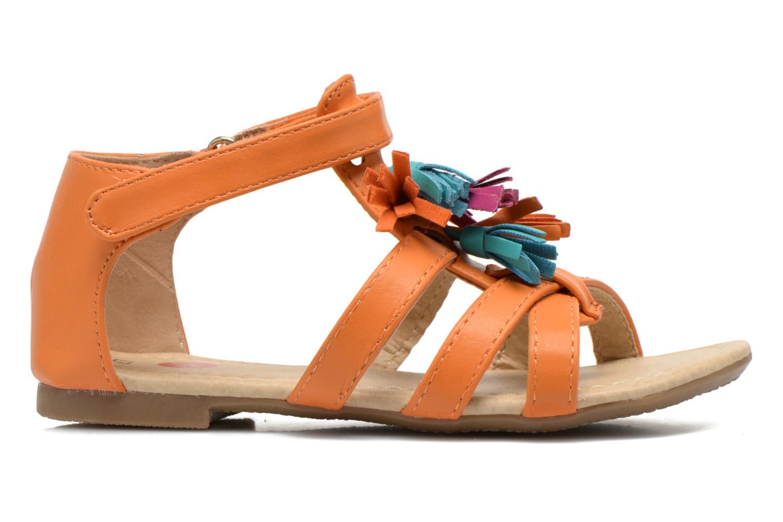 Sandalen NA! Flo Oranje achterkant