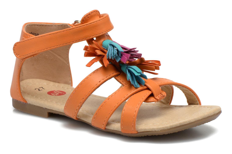 Sandalen NA! Flo Oranje detail
