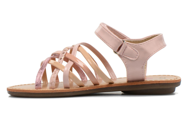 Sandales et nu-pieds NA! Farandol Rose vue face
