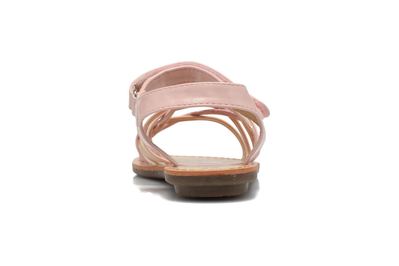 Sandales et nu-pieds NA! Farandol Rose vue droite