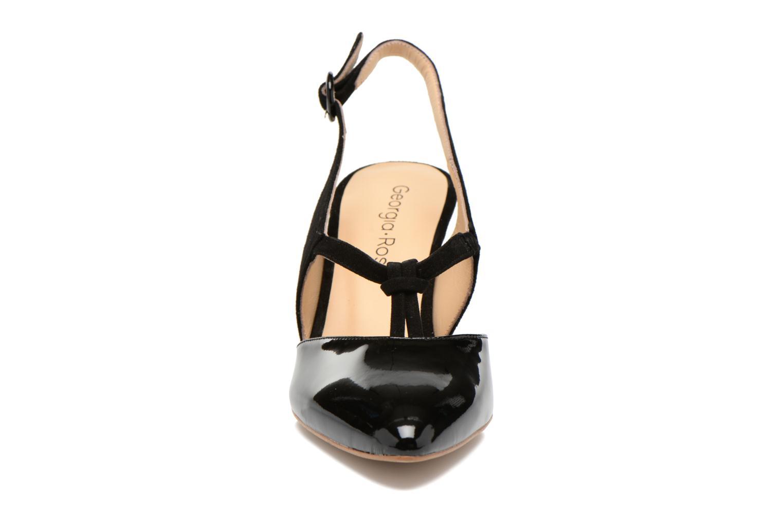 Escarpins Georgia Rose Riva Noir vue portées chaussures