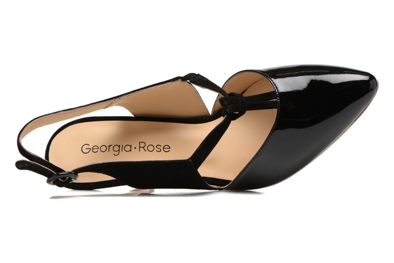 Escarpins Georgia Rose Riva Noir vue gauche