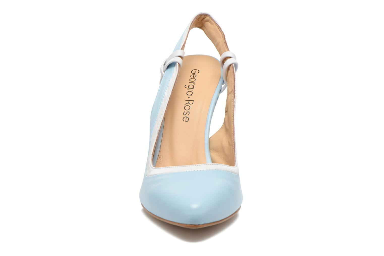 Barquette Leonor napa bleu ibiza + napa blanc + pic nic 324 n°7