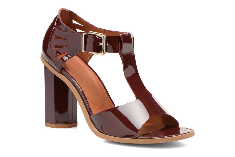 Sandales et nu-pieds Made by SARENZA Square Simone#3 Bordeaux vue droite