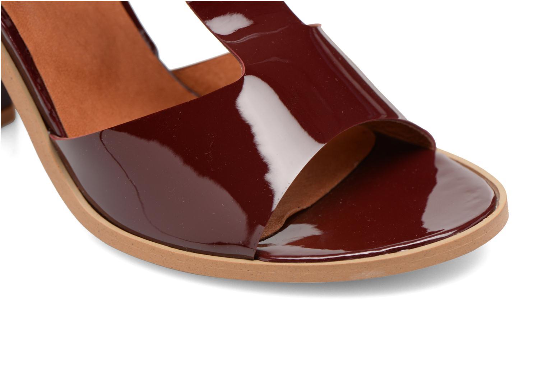 Sandales et nu-pieds Made by SARENZA Square Simone#3 Bordeaux vue gauche