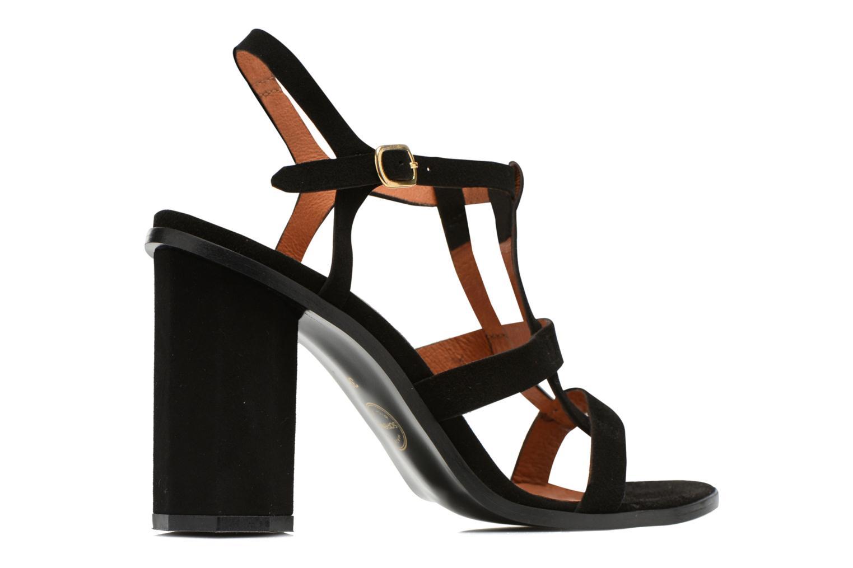 Sandales et nu-pieds Made by SARENZA Square Simone#7 Noir vue portées chaussures