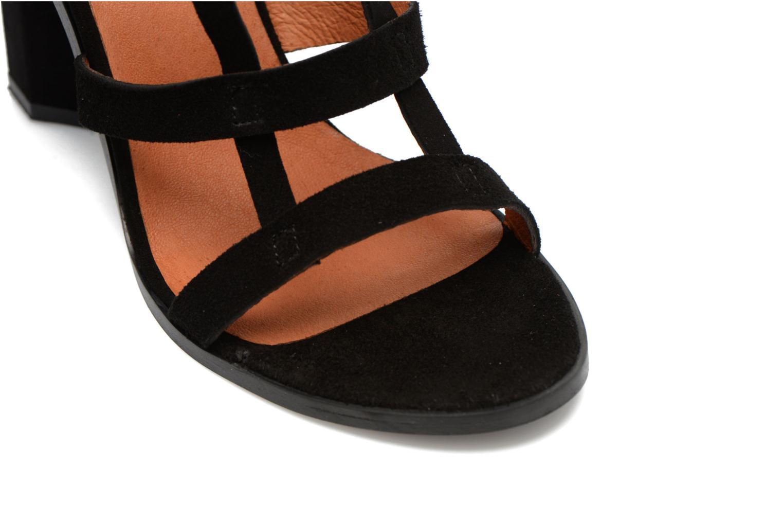 Sandalen Made by SARENZA Square Simone#7 Zwart achterkant