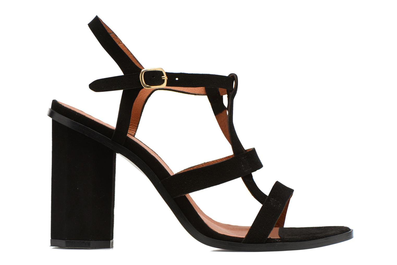 Sandales et nu-pieds Made by SARENZA Square Simone#7 Noir vue détail/paire