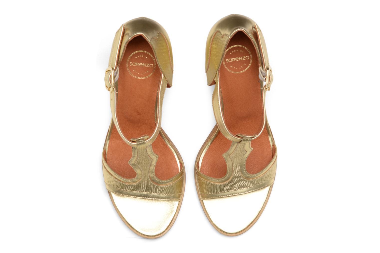 Sandales et nu-pieds Made by SARENZA Discow Girl #7 Or et bronze vue portées chaussures
