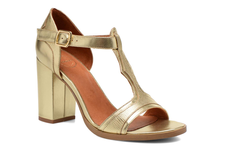 Sandales et nu-pieds Made by SARENZA Discow Girl #7 Or et bronze vue droite