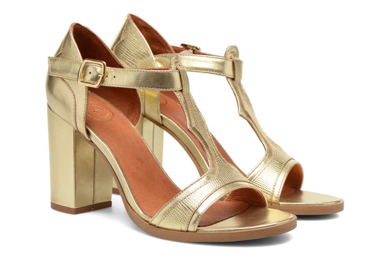 Sandales et nu-pieds Made by SARENZA Discow Girl #7 Or et bronze vue derrière