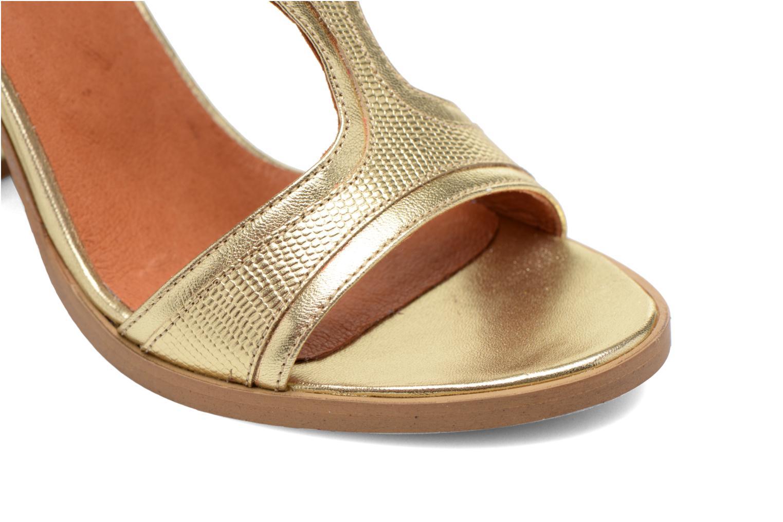 Sandales et nu-pieds Made by SARENZA Discow Girl #7 Or et bronze vue gauche