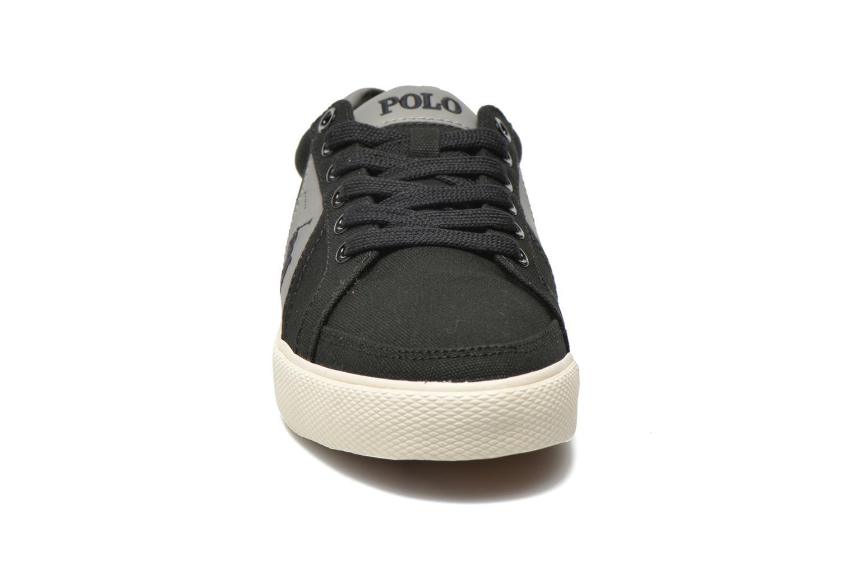 Baskets Polo Ralph Lauren Huge Noir vue portées chaussures