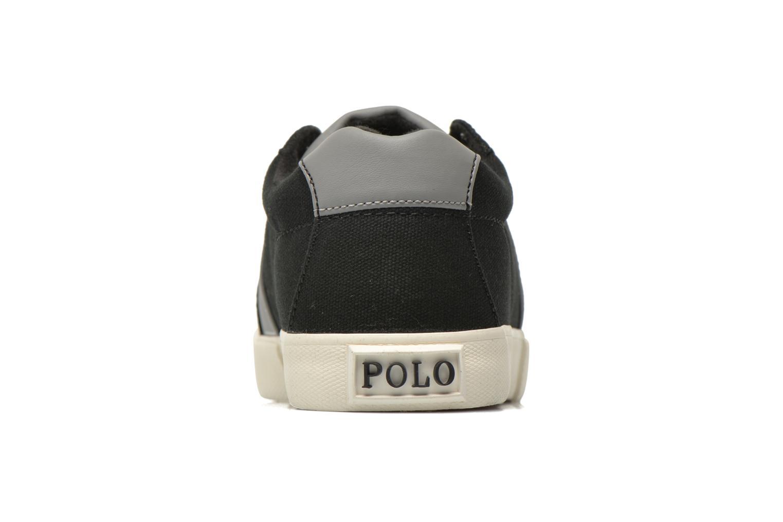 Baskets Polo Ralph Lauren Huge Noir vue droite