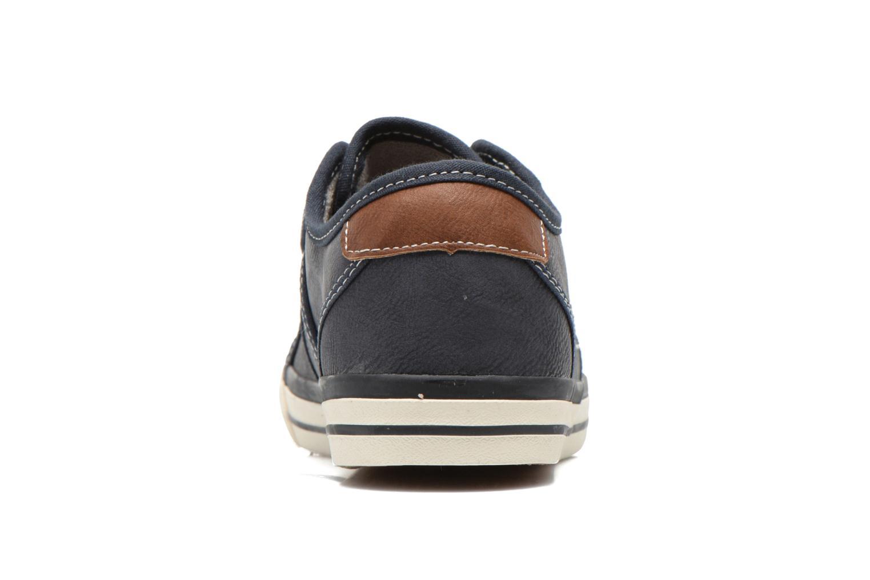 Sneakers Mustang shoes Flavio Blå Se fra højre