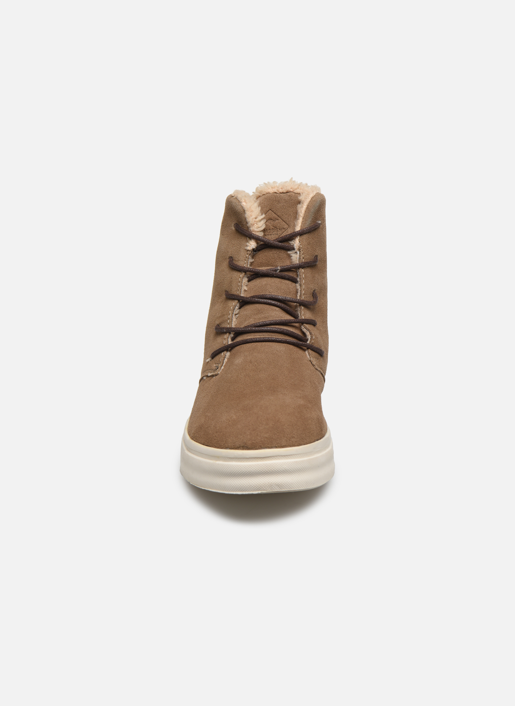 Baskets Roadsign Figuier Beige vue portées chaussures