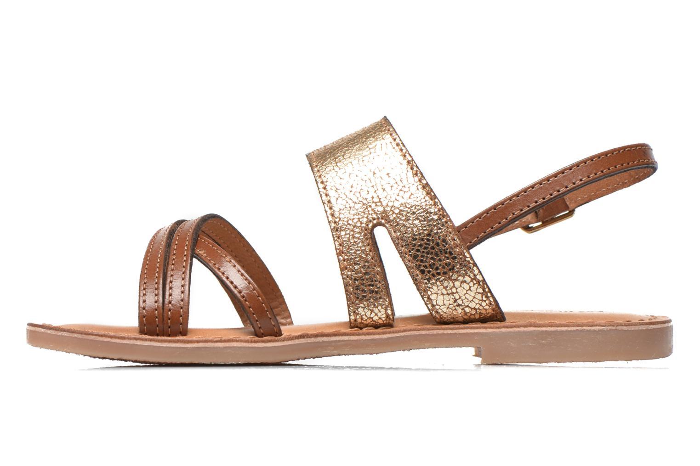 Sandales et nu-pieds Les Tropéziennes par M Belarbi Becot Marron vue face