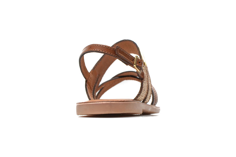 Sandales et nu-pieds Les Tropéziennes par M Belarbi Becot Marron vue droite