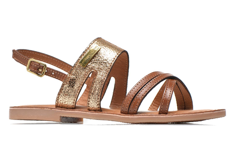 Sandales et nu-pieds Les Tropéziennes par M Belarbi Becot Marron vue derrière