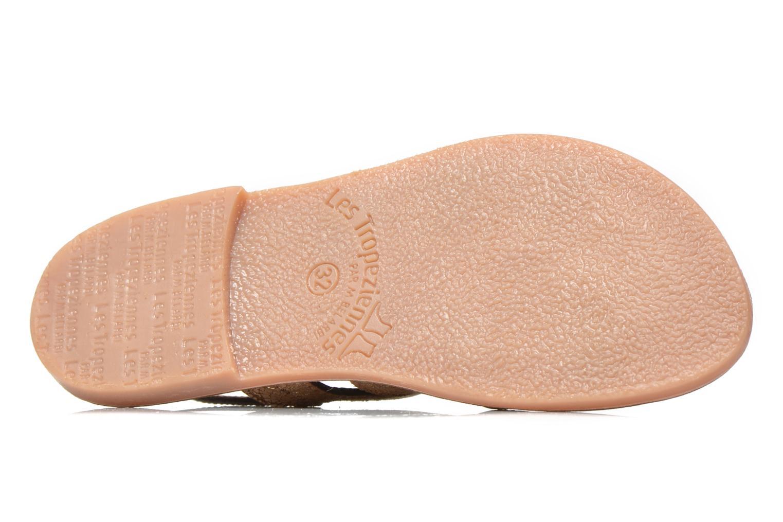 Sandales et nu-pieds Les Tropéziennes par M Belarbi Becot Marron vue haut
