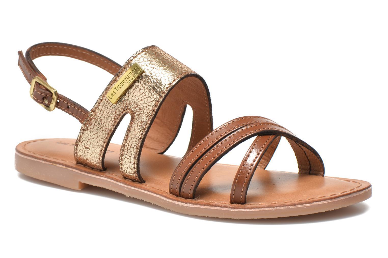 Sandales et nu-pieds Les Tropéziennes par M Belarbi Becot Marron vue détail/paire