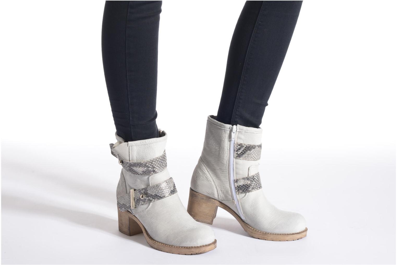 Bottines et boots Sweet Lemon L.5 Eliora Gris vue bas / vue portée sac