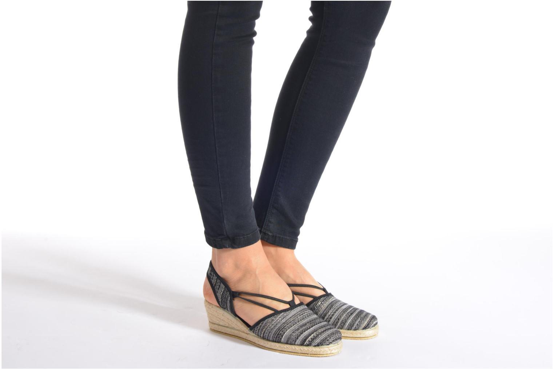 Sandales et nu-pieds Rondinaud Fier Noir vue bas / vue portée sac
