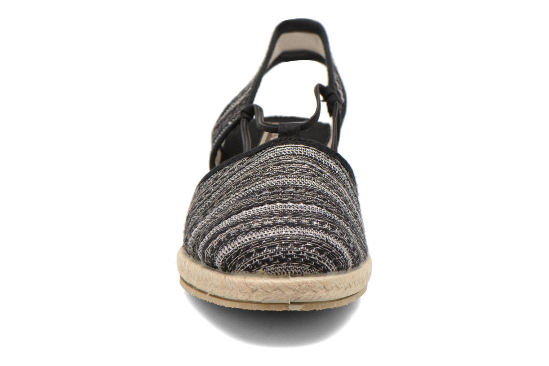 Sandales et nu-pieds Rondinaud Fier Noir vue portées chaussures