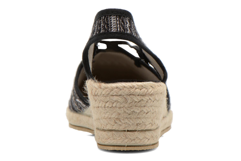 Sandales et nu-pieds Rondinaud Fier Noir vue droite
