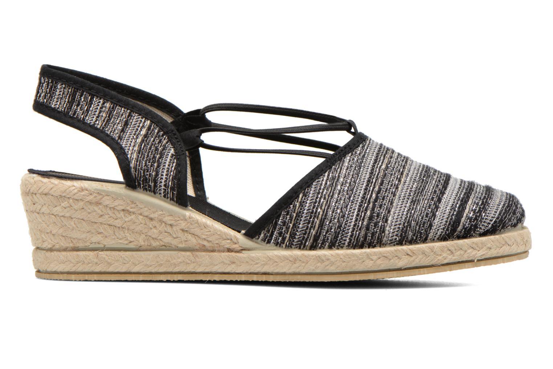 Sandales et nu-pieds Rondinaud Fier Noir vue derrière