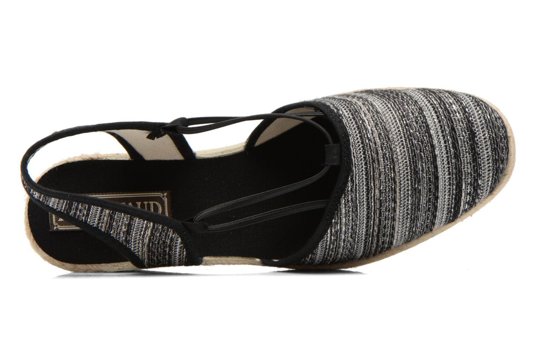 Sandales et nu-pieds Rondinaud Fier Noir vue gauche