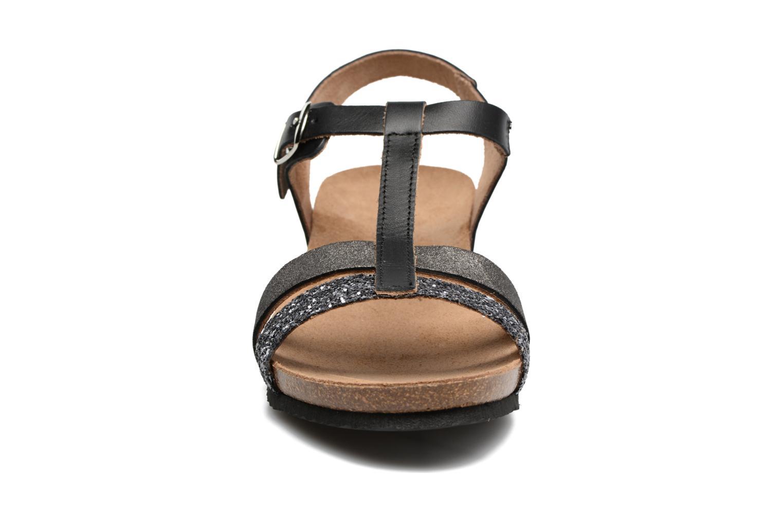 Sandales et nu-pieds Rondinaud Ceou Noir vue portées chaussures