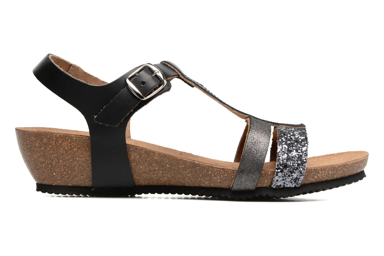 Sandales et nu-pieds Rondinaud Ceou Noir vue derrière