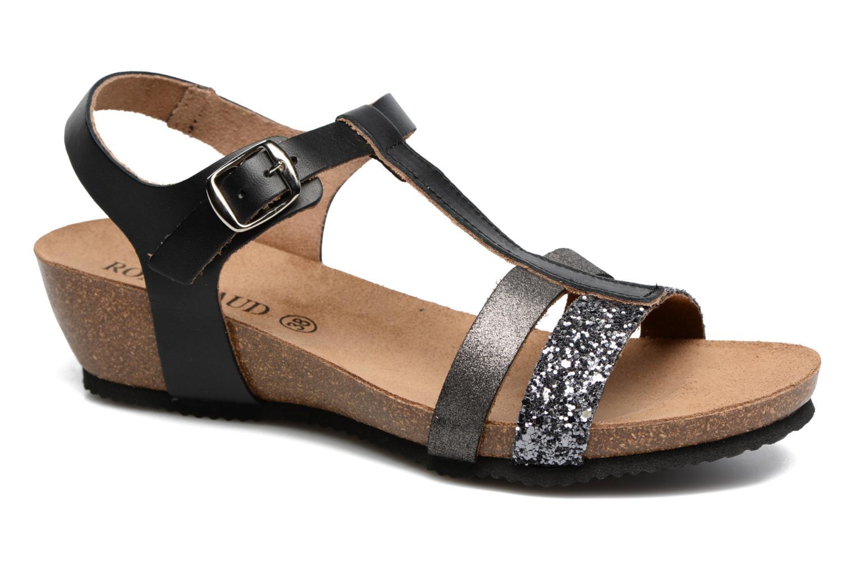 Sandales et nu-pieds Rondinaud Ceou Noir vue détail/paire