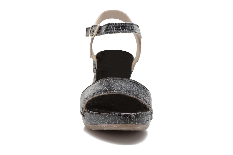 Sandales et nu-pieds Khrio Ibague Noir vue portées chaussures