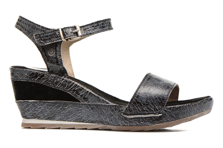 Sandales et nu-pieds Khrio Ibague Noir vue derrière