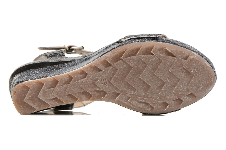 Sandales et nu-pieds Khrio Ibague Noir vue haut