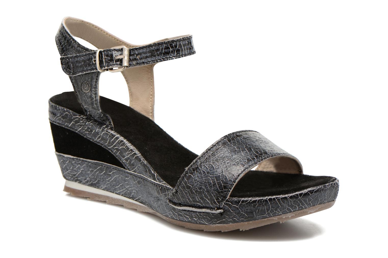 Sandales et nu-pieds Khrio Ibague Noir vue détail/paire