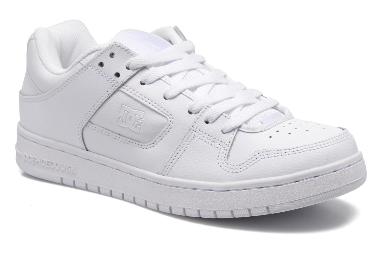 DC Shoes Manteca (Blanc) - Baskets chez Sarenza (253098)