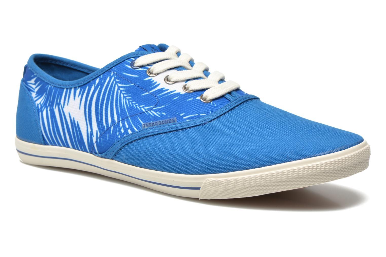 Imperial Blue Jack & Jones JJSpider Canvas Palm Print (Bleu)