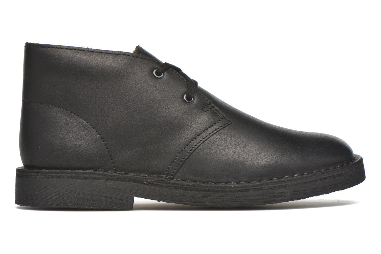 Chaussures à lacets Clarks Desert Boot Noir vue derrière