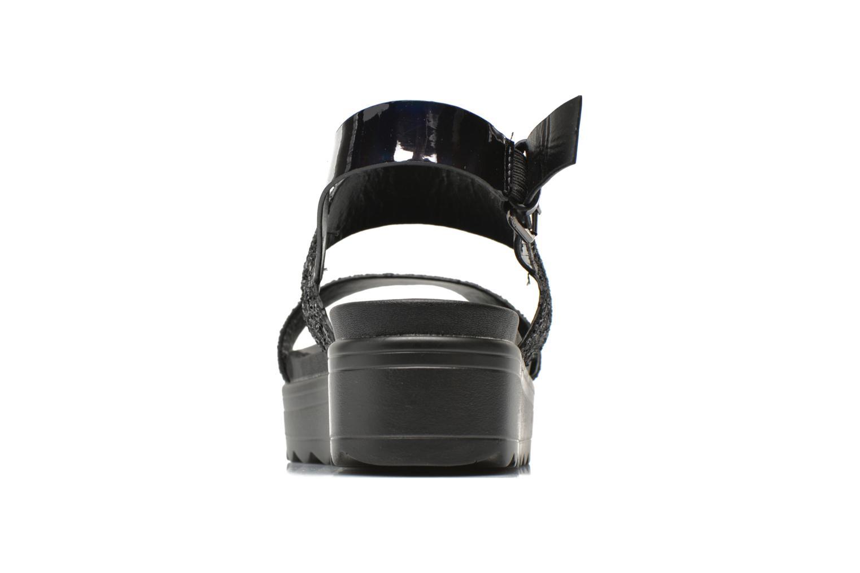 Sandales et nu-pieds Victoria Sandalia Hebilla Noir vue droite